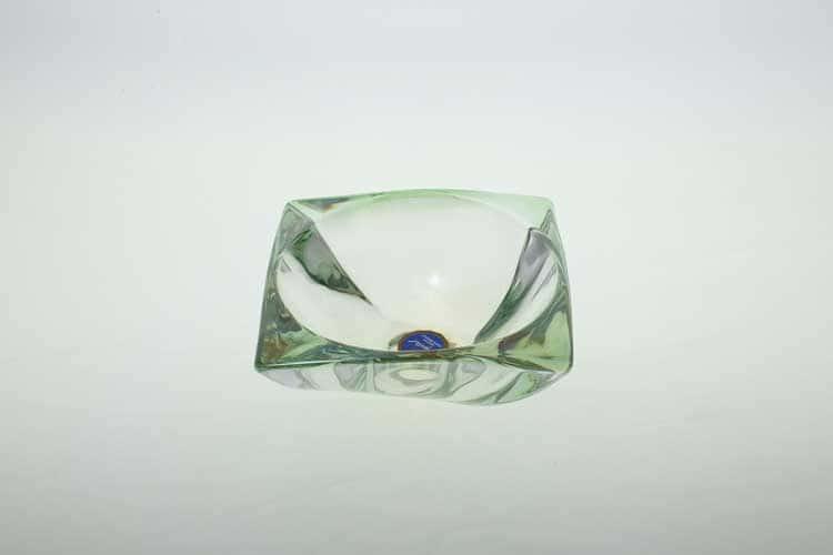 AREZZO R-G Салатник 15 см зеленый Bohemia Crystal