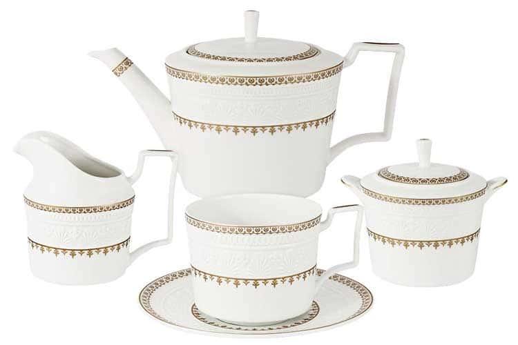 Золотой замок Чайный сервиз 21 предмет на 6 персон Colombo