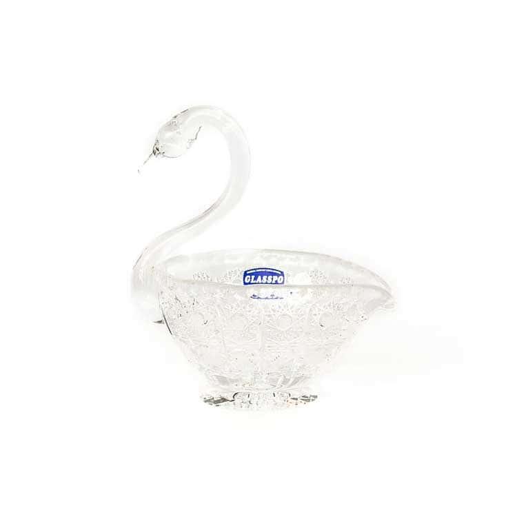 Хрусталь Лебедь Ваза для конфет Glasspo