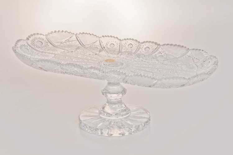 Хрусталь Рулетница н/н 35 см Glasspo