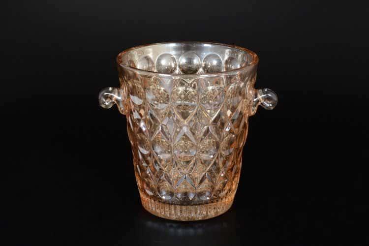 Ведерко для льда Royal Classics 15 см с золотом медовая