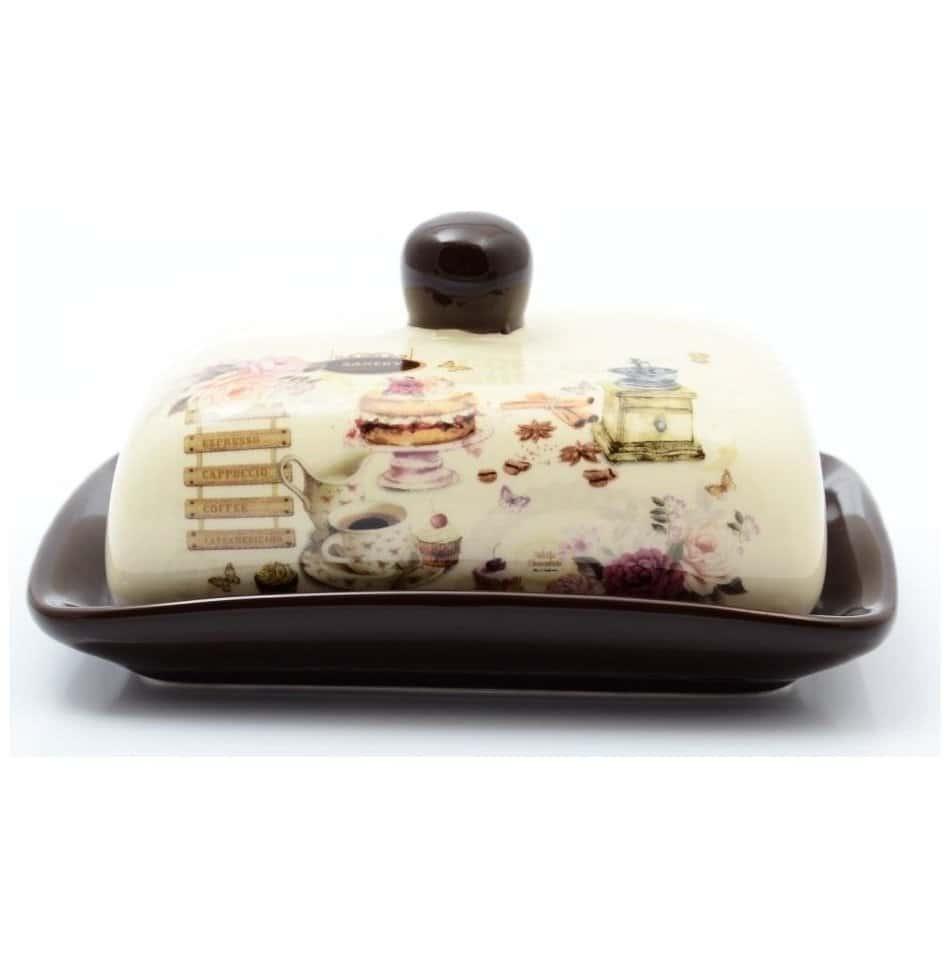 Маслёнка с крышкой Royal Classics 17,5х13,5х9 см
