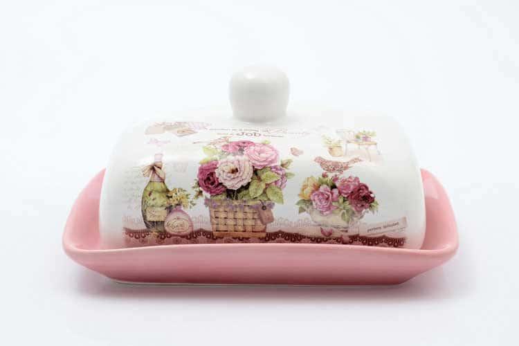Garden Маслёнка с крышкой Royal Classics 17,5х13,5х9 см