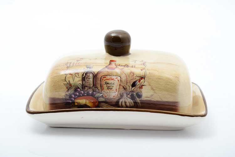 Garlic Маслёнка с крышкой Royal Classics 17,5х13,5х9 см
