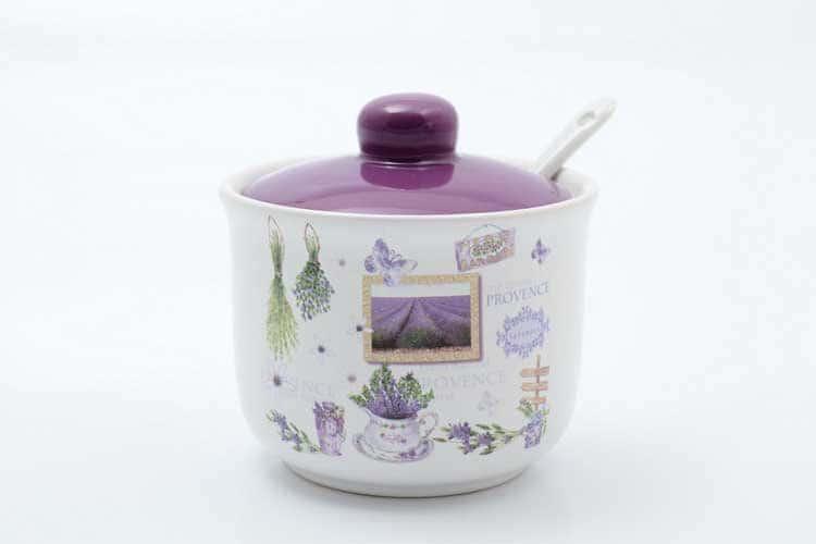 Сахарница с ложкой Provence Royal Classic 250 мл 11,2х11,2х10,3 см