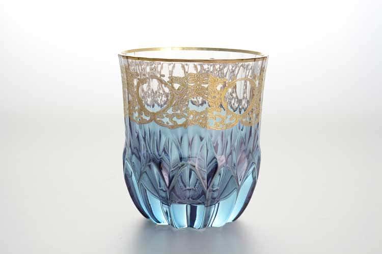 Набор стаканов для виски TIMON синий