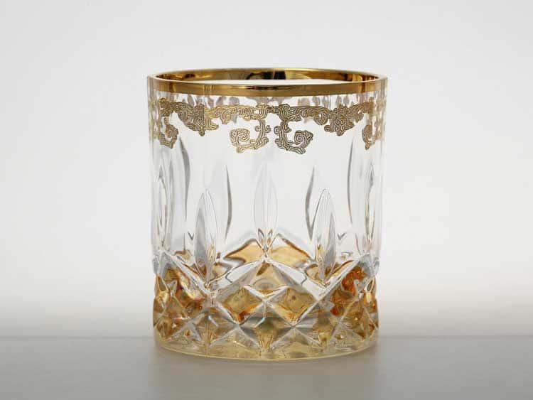 Набор стаканов для виски TIMON медовый
