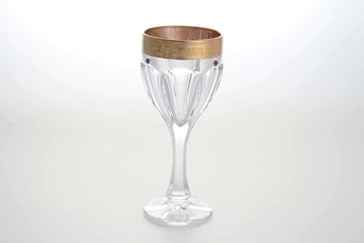 Сафари Набор бокалов для вина 190 мл BOHEMIA GOLD