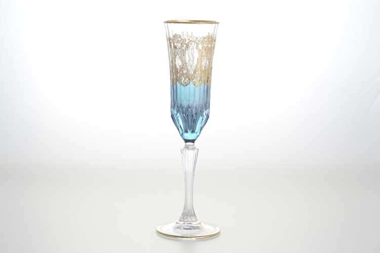 Набор фужеров для шампанского TIMON синий