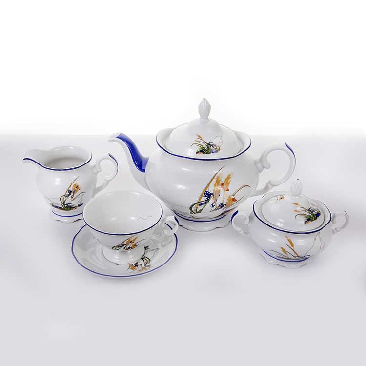 Сервиз чайный Гуси Эпиаг на 6 перс.15 пред.