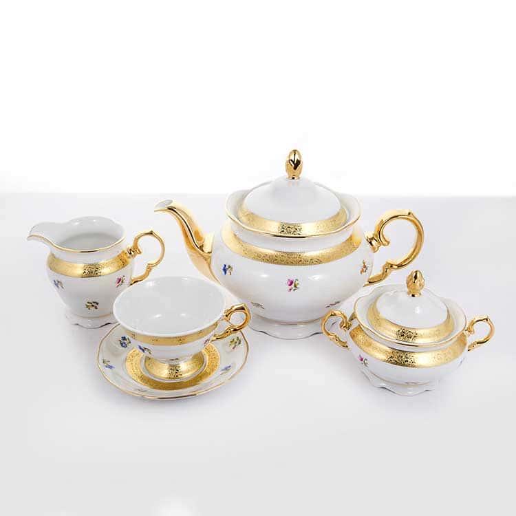 Сервиз чайный Эпиаг 3052 на 6 перс.15 пред.