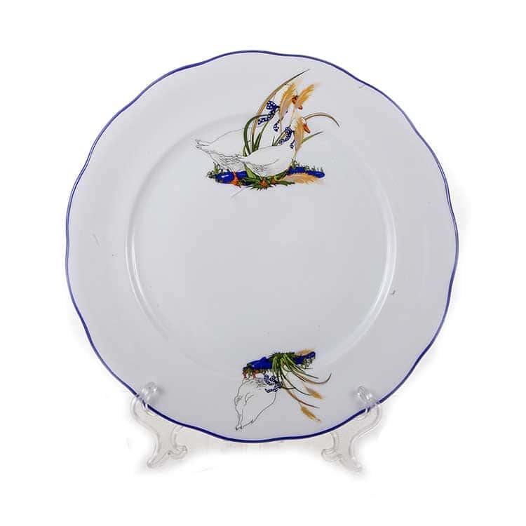 Набор тарелок Гуси Эпиаг 25 см 6 пред.