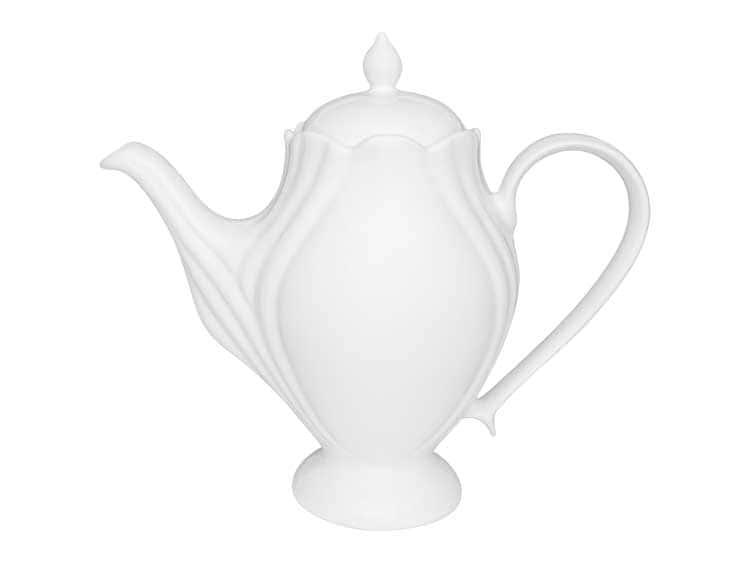 Кофейник Oxford белый 1,2 л