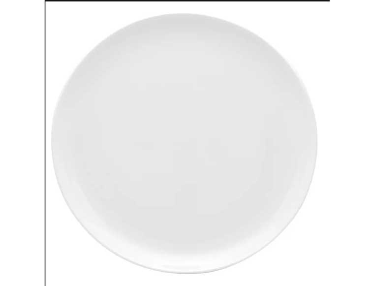Блюдо для пиццы Oxford белый 35 см