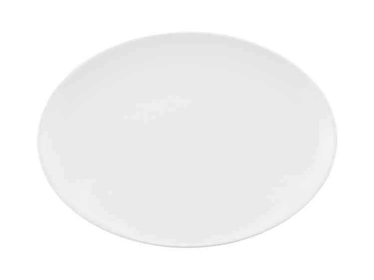 Блюдо круглое Oxford белый 35 см
