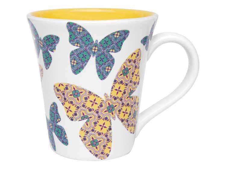 Кружка для чая Oxford бабочки 330 мл