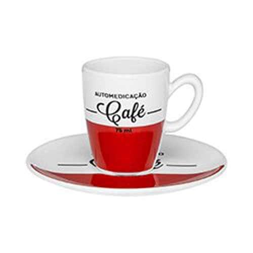 Набор кофейный для эспрессо Oxford Cafe на 6 персон (6 чашек + 6 блюдец)