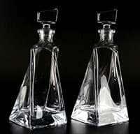 Штоф Ловерс 2 предмета Crystalite Bohemia