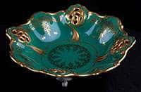 Барбарина 27 см Ювел зеленый Weimar Porzellan
