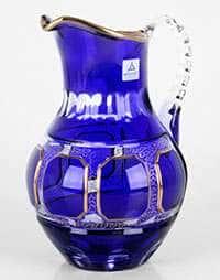 Графин 1,5 л Антик синий Arnstadt Crystall