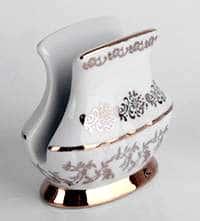 Лист белый Салфетница из фарфора Bavarian Porcelain