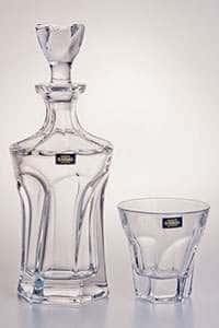 Набор для виски 7 предметов Аполло прозрачный