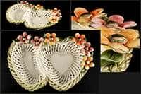 Ваза для конфет Цветы 29x21x5 см