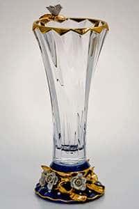Бибироуз Пикаделли Ваза для цветов 35,5 см высокая