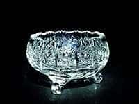 Ваза для конфет на 3-х ножках Хрусталь 12 см Acrystal