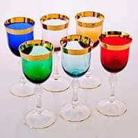 Набор бокалов для вина 250 мл Джесси Колорс