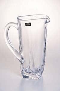 Кувшин Квадро прозрачный 1,1 л Crystalite Bohemia