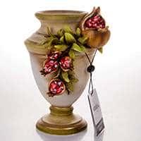 Декоративная ваза Стелла Красный гранат