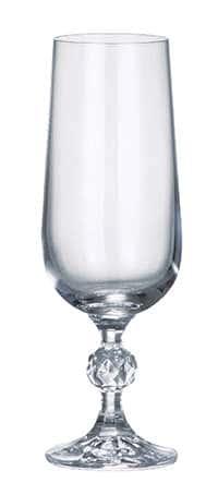 Клаудия недекорированная Набор фужеров для шампанского Crystalite 180 мл 16218