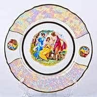 Бернадот Мадонна Набор тарелок 25 см из фарфора