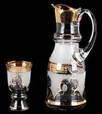Версаче фон Королевский Набор для воды Potochka 7 предметов