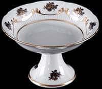 Венеция Роза голубая Салатник Bavarian Porcelain 13 см