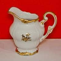 Роза золотая Молочник Weimar Porzellan 250 мл