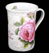 Кружка Кёнитз Розовая роза Индика