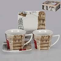 Европа Чайные чашки с блюдцами Patricia на 2 персоны