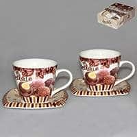 Шоколад Набор чайный Patricia 4 предмета 220 мл