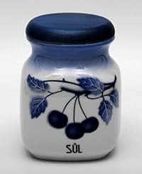 Вишни Банка для сыпучих продуктов (соль) Thun 0,6 л