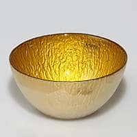 Салатник Monna Glass 14 см желтый