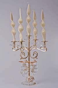 Франко Подсвечник из латуни на 5 свечей