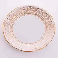 Лист белый 32 см Блюдо круглое Bavarian Porcelain