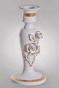 Розы Подсвечник Orgia из керамики 32 см