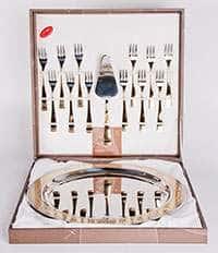Набор для торта Дания Голд 14 предметов