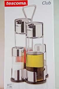 Набор Tescoma из 4-x предметов масло/уксус/соль/перец