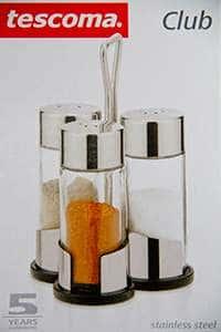 Набор Tescoma из 3-х предметов для соль/переца/паприка