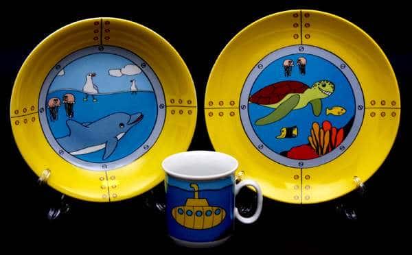 Набор детский 3 предмета Море