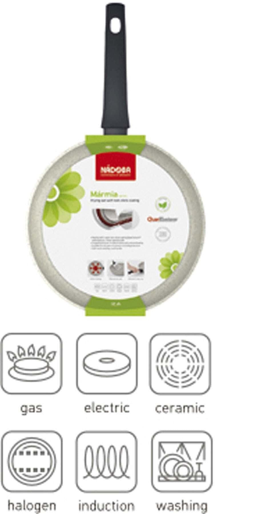 Marmia Сковорода с антипригарным покрытием 28 см Nadoba